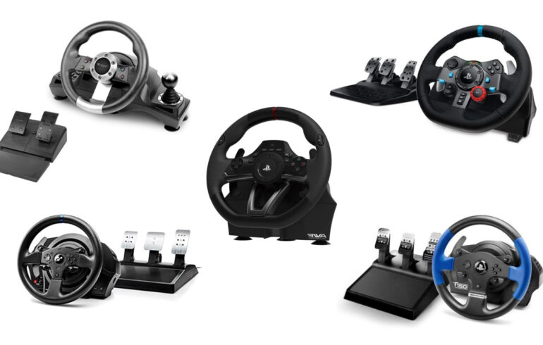 ハンコンの選び方とおすすめ5選!ドライブ、レースゲームに!PCやPS4、PS5対応モデル!